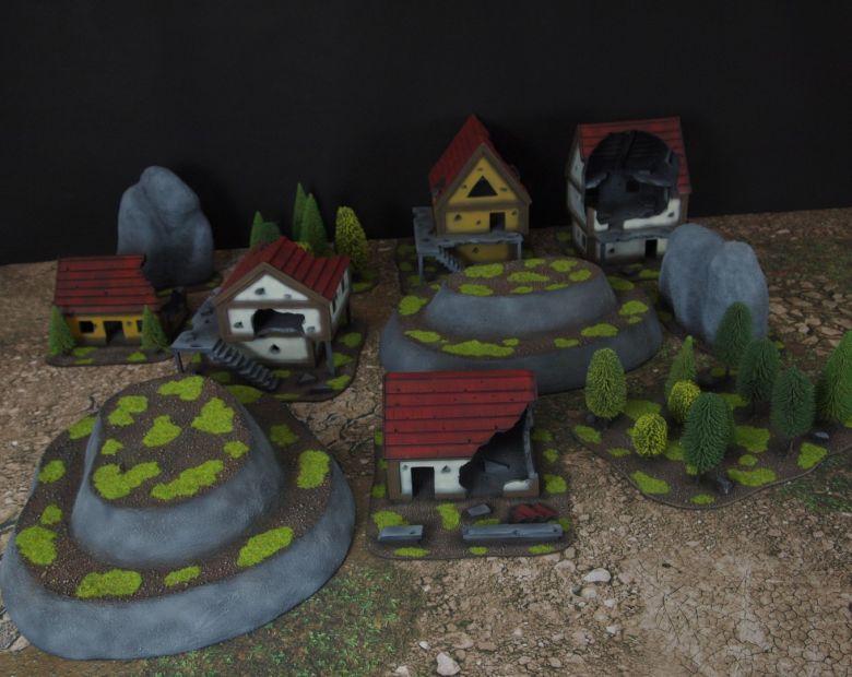 Warhammer fantasy sigmar terrain set 5 1