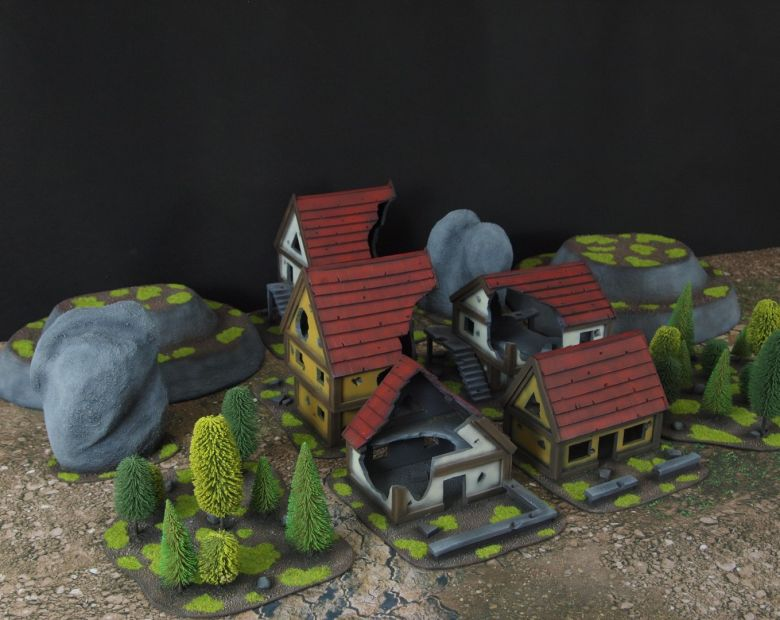 Warhammer fantasy sigmar terrain set 5 2