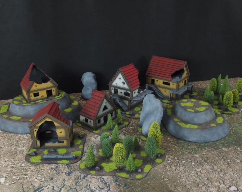 Warhammer fantasy sigmar terrain set 5