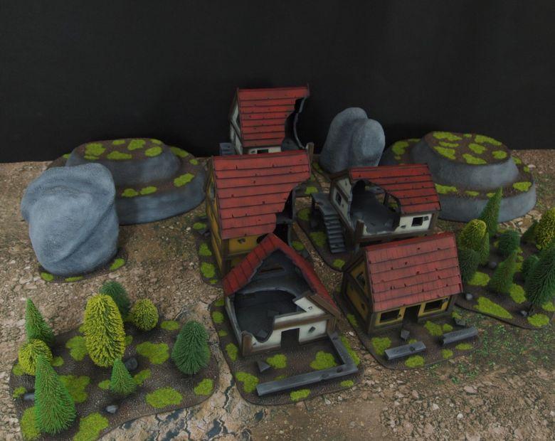 Warhammer fantasy sigmar terrain set 6