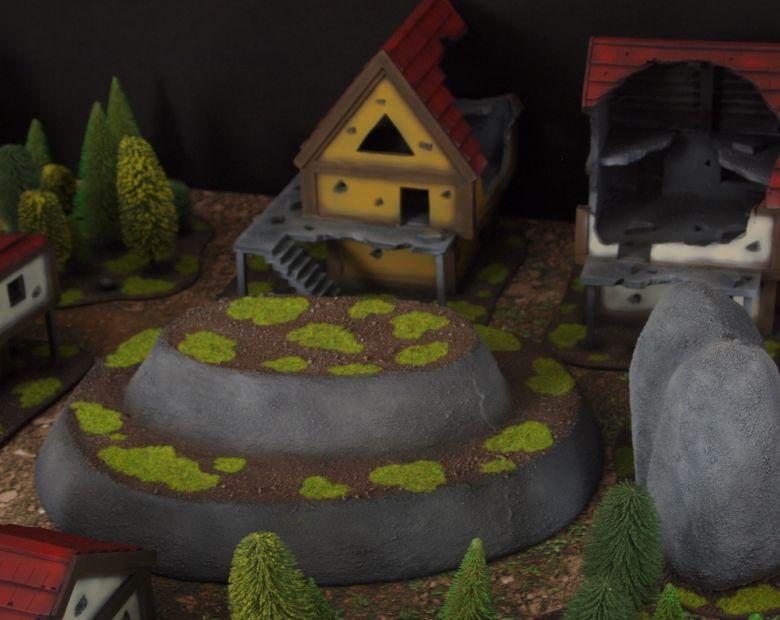 Warhammer fantasy sigmar terrain set hill 1 1