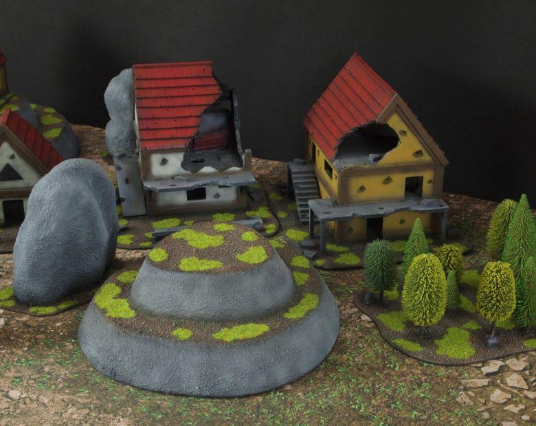 Warhammer fantasy sigmar terrain set hill 1