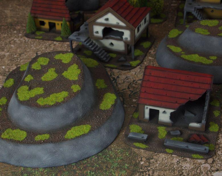 Warhammer fantasy sigmar terrain set hill 2 1