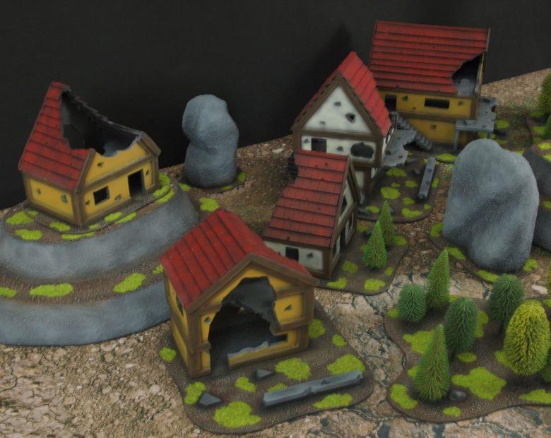 Warhammer fantasy sigmar terrain set hill 2