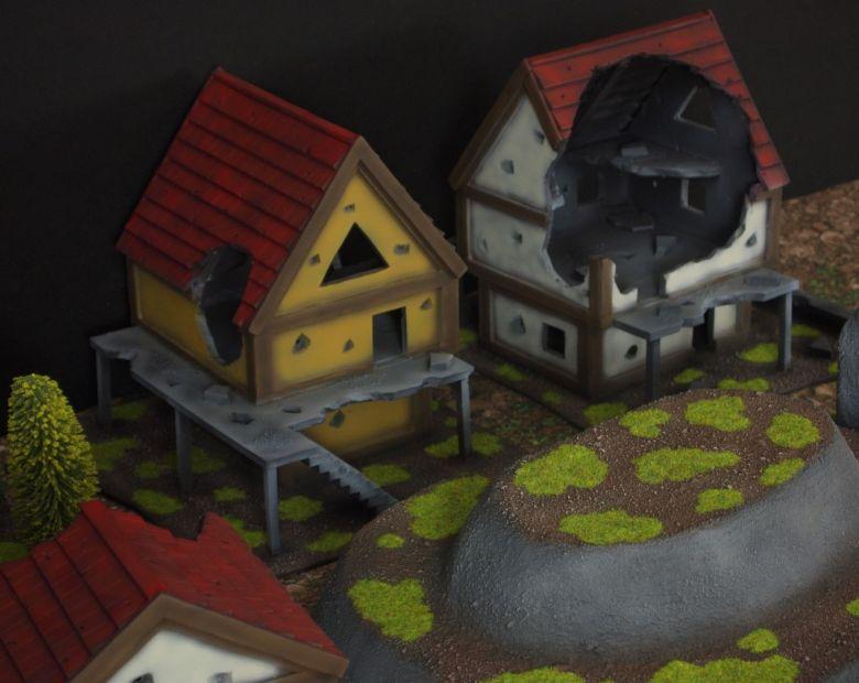 Warhammer fantasy sigmar terrain set hill 3