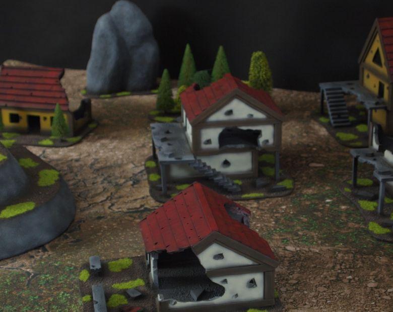 Warhammer fantasy sigmar terrain set house 1