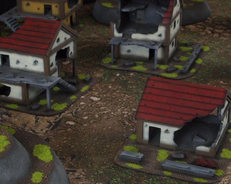 Warhammer fantasy sigmar terrain set house 2