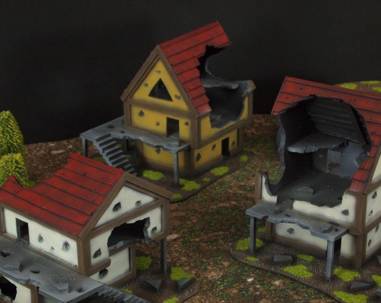 Warhammer fantasy sigmar terrain set house 3