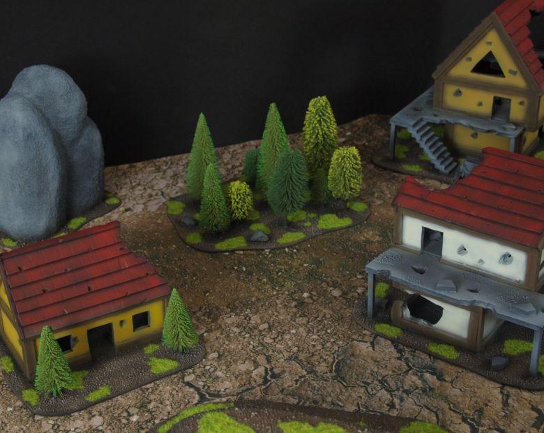 Warhammer fantasy sigmar terrain set house 4