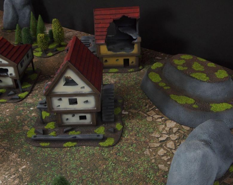Warhammer fantasy sigmar terrain set houses 1 1