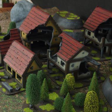 Fantasy terrain set 1 - WargameTerrainFactory - Miniatures War Game Terrain & Scenery