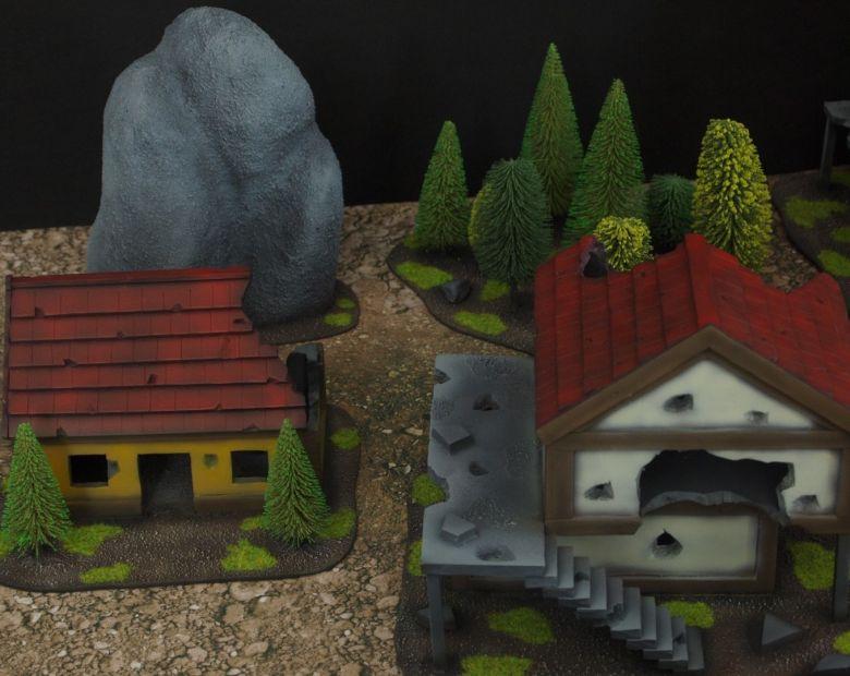Warhammer fantasy sigmar terrain set rocks 1 1