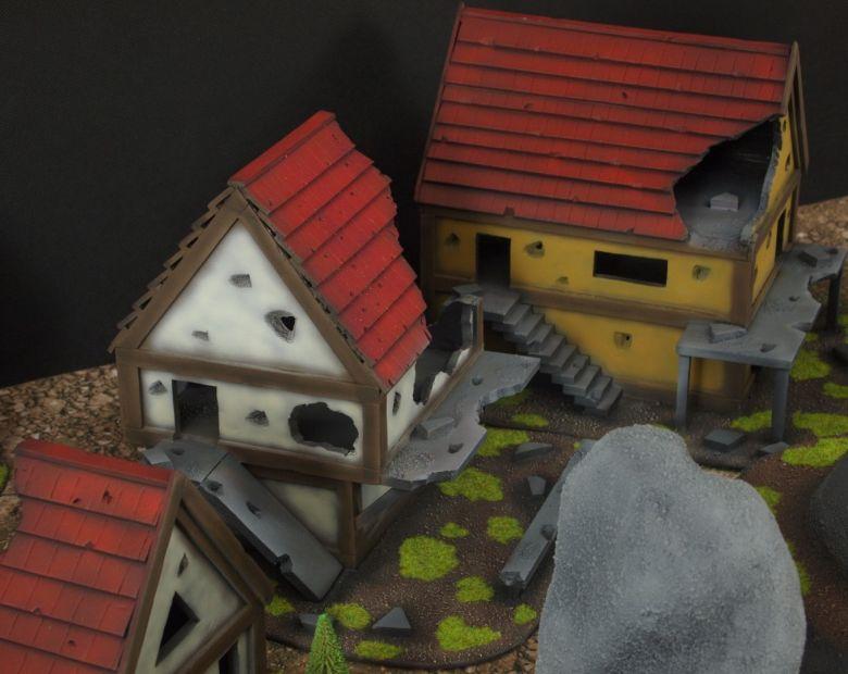 Warhammer fantasy sigmar terrain set rocks 1