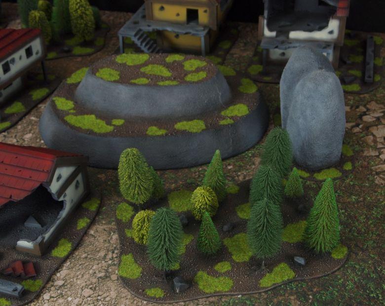 Warhammer fantasy sigmar terrain set woods 1 1