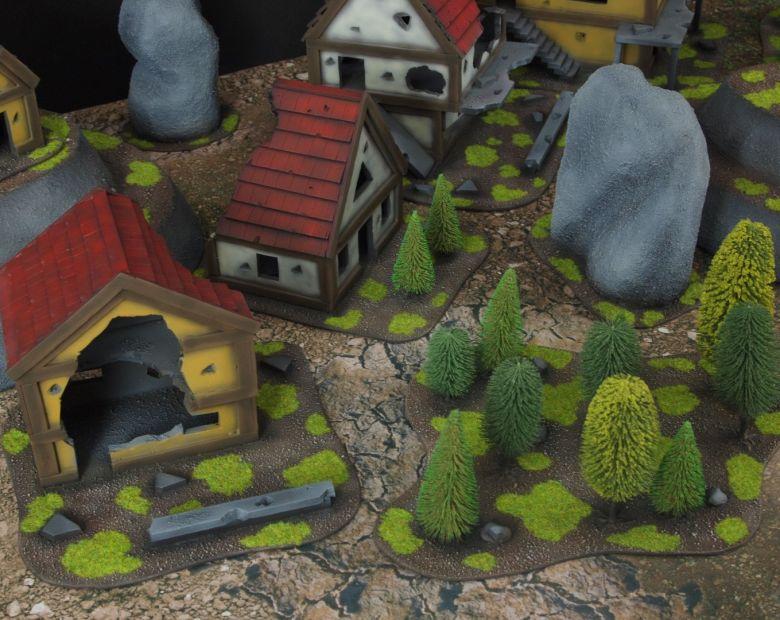 Warhammer fantasy sigmar terrain set woods 1