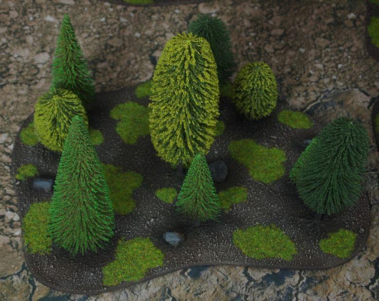 Warhammer fantasy sigmar terrain set woods 2 1