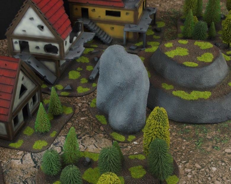 Warhammer fantasy sigmar terrain set woods 2